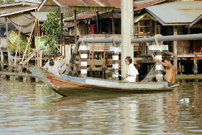 The klongs (canals) in Bangkok, rent, studio apartment View Talay Pattaya thailand