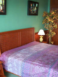 Le lit, Pattaya, location de studio, location studio appartement chambre en bord de mer.