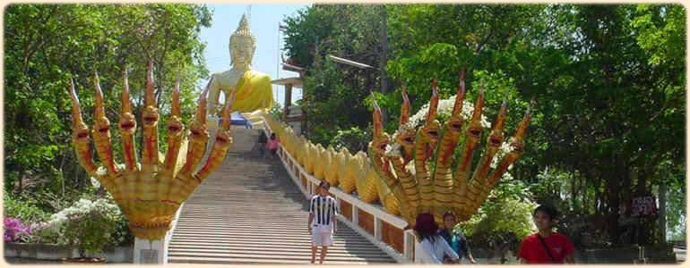 Buddha on the hill near Pattaya thailand, for rent, studio apartment